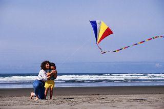 Beach - kite
