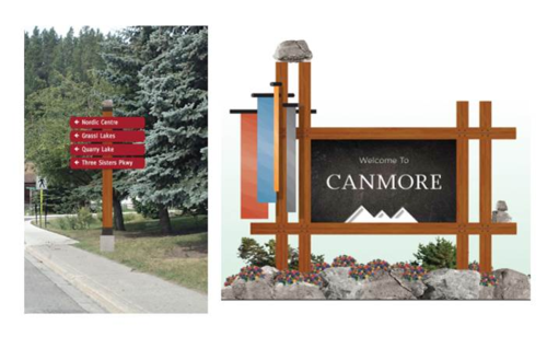 Canmore Wayfinding